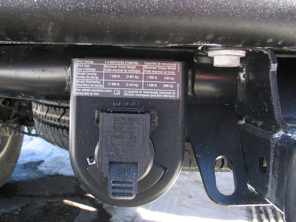 Factoryinstalled Trailer Hitch Notice Also The 7pin Wiring Diagram
