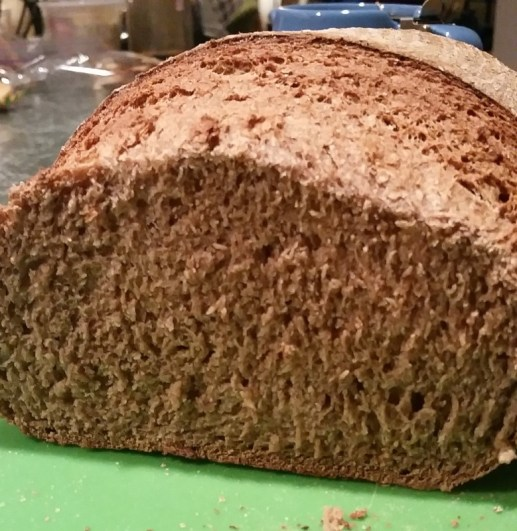 Very different crumb