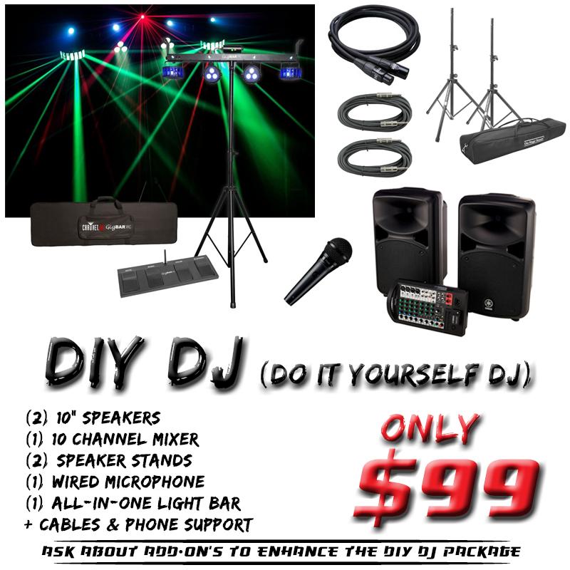 DIY DJ Rental
