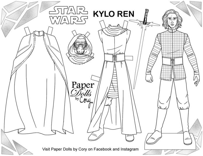 Free Printable Paper Dolls Coloring Pages And More