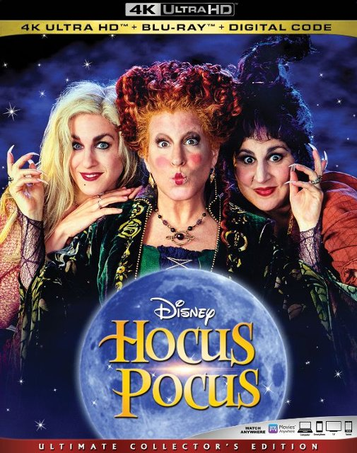 Hocus Pocus Getting 4k Ultra Hd Blu Ray And Exclusive Steelbook Releases