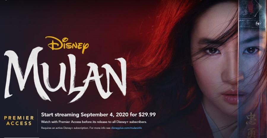 Mulan Disney Plus