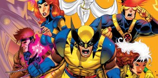 X-men characters from the 90s