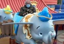 Dumbo ride with Bernie Sanders Meme