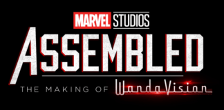 Marvel STudios Assembled logo for first episode with WandaVision