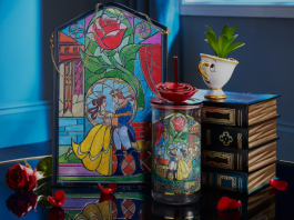 Image with beauty and the beast merchandise