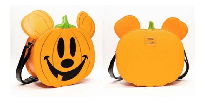 Mickey Mouse Jack-o-Lantern Loungefly Purse