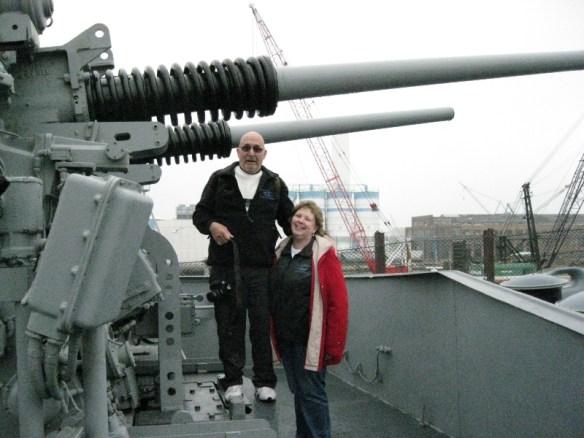 big guns - Rusty & Bev