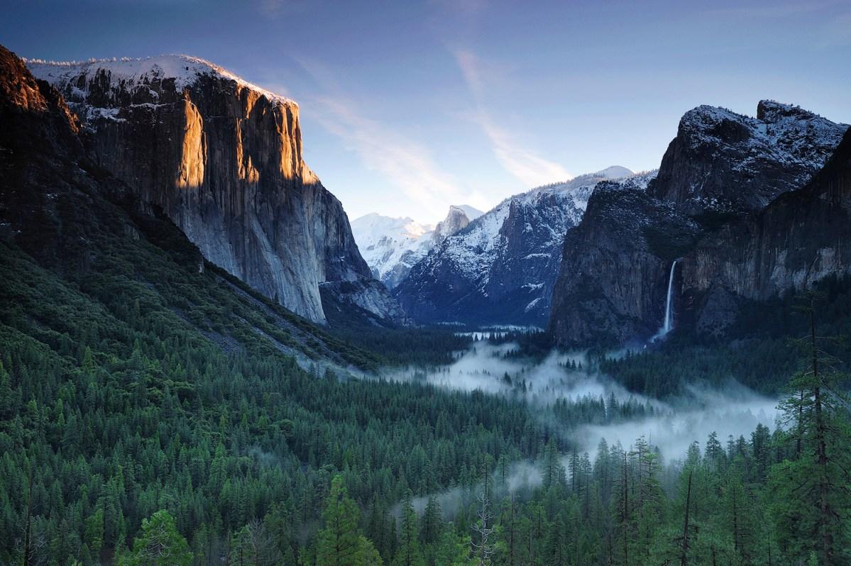 รวมคลังจุดถ่ายภาพใน Yosemite Valley