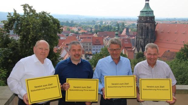 Am 3. August wurde der Bundesverkehrswegeplan 2030 beschlossen. Darin enthalten ist auch die Südumfahrung Pirna. […]