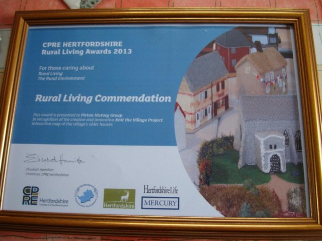 The Council for the protection of Rural England award.