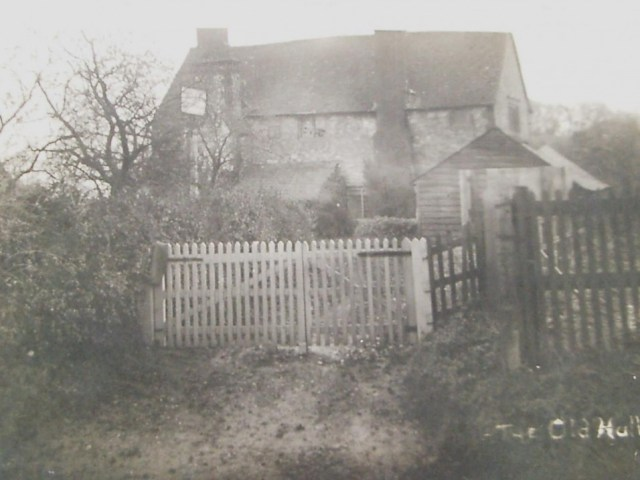 1910s The Old Hall on the corner of Hitchin Road and Great Green closed in 1919. This beerhouse, run by the Males family, was the surviving wing of what some local historians think was a manor house. It was certainly owned by Mr Radcliffe, the Lord of the Manor, and a tunnel is supposed to link it to Highdown. The building was sold in 1926 to the Reverend Winkworth .