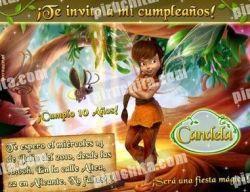 Invitación cumpleaños Campanilla #14-0