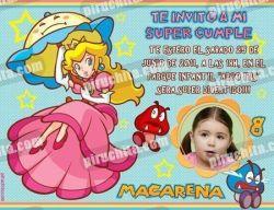 Invitación cumpleaños Mario Bros #12-0