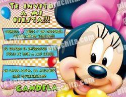 Invitación cumpleaños Mickey y sus amigos #09-0