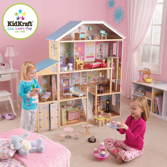 Ein Traum Riesiges Puppenhaus Majestic von KidKraft