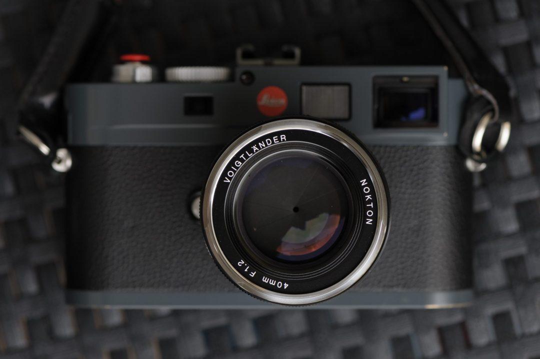 Voightlander 40mm Nokton f1.2 VM