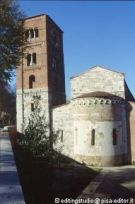 Leaning Tower of the Chiesa di San Michele degli Scalzi in Pisa