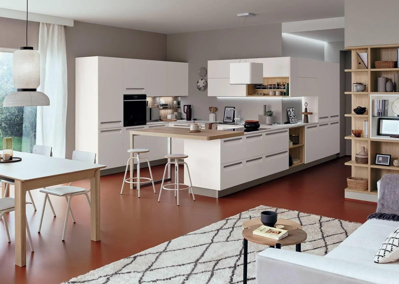 Dispone di ingresso, soggiorno, grande cucina, due ampie camere matrimoniali e due bagni di cui uno con vasca. Come Arredare Cucina E Soggiorno In Unico Ambiente