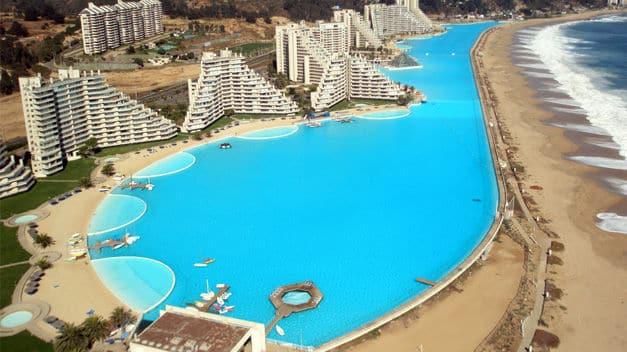 Hotel San Alfonso del Mar Chile La piscina ms grande