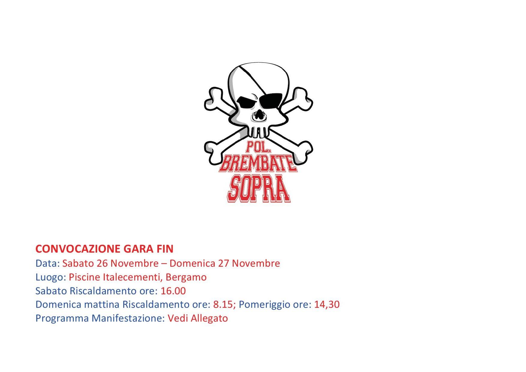 20 Trofeo Citt di Bergamo  Polisportiva Brembate Sopra