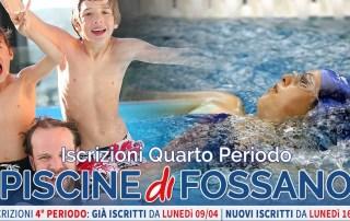 Iscrizioni Quarto Periodo - Corsi Nuoto Fitness Piscina Fossano