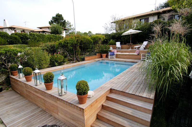Terrasse Piscine Bois Exotique De Chez Piscine Concept