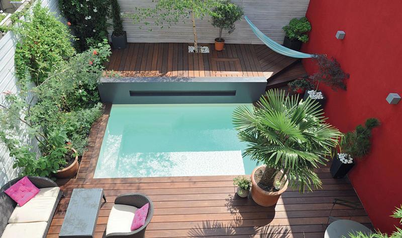 La mini piscine  une petite piscine conomique et esthtique