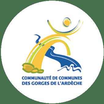 Logo - Communauté de Communes des Gorges de l'Ardèche