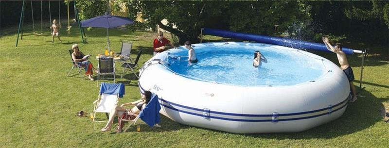 Ovline 4000 dcouvrez la piscine horssol PVC Zodiac