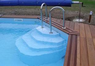 Vente descalier pour piscine  fon plat escaliers pour
