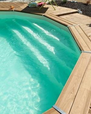 Piscines bois Durapin Mava 700 une piscine de qualit en promo