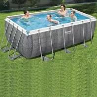 piscine hors sol bois tubulaire