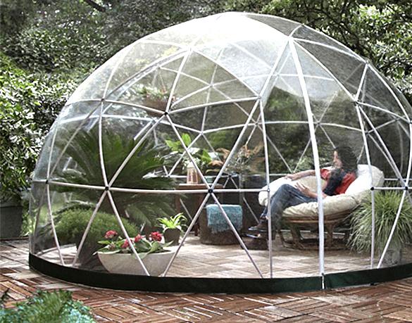 Abri de jardin Garden Igloo 10 m pour piscine  spas  couvertures en option