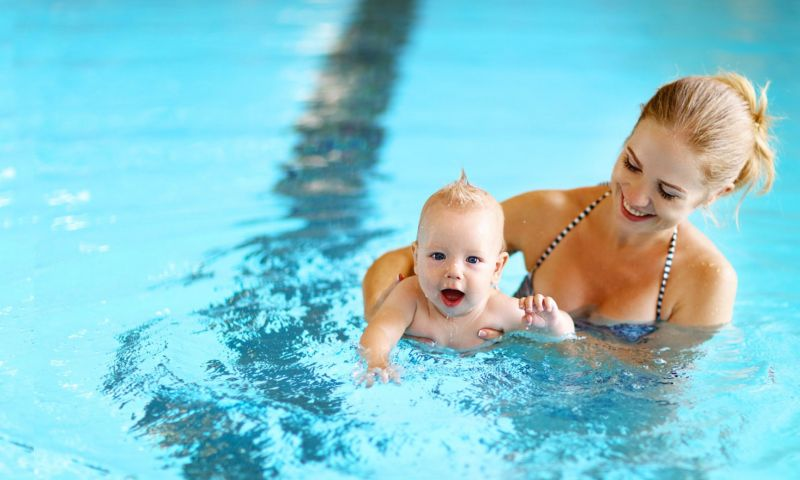 Corso di nuoto Baby dai 36 ai 48 mesi  Piscine di Darfo Boario Terme