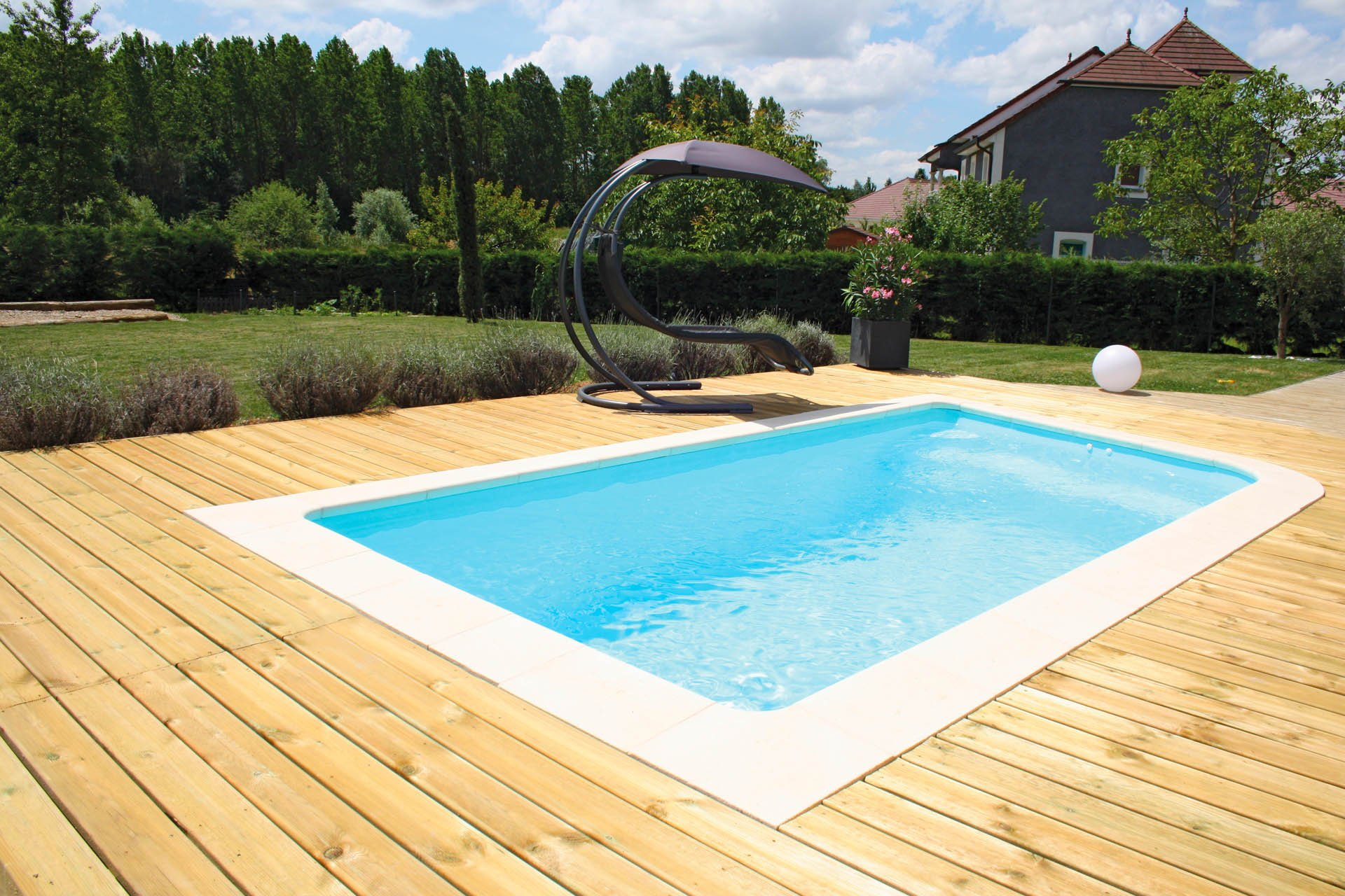 piscine coque polyester forme rectangulaire 5x2 50 a fond plat bahamas piscines ibiza