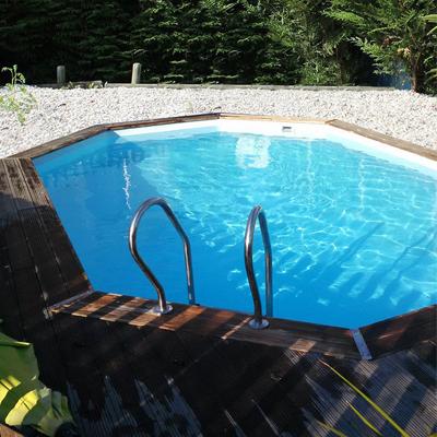 piscine bois ovale sunbay grenade