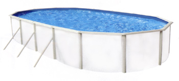 piscine tempo ovale