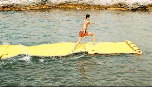tapis flottant skiflott 260 x 90 cm