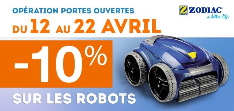 promotion 10% robots zodiac vortex