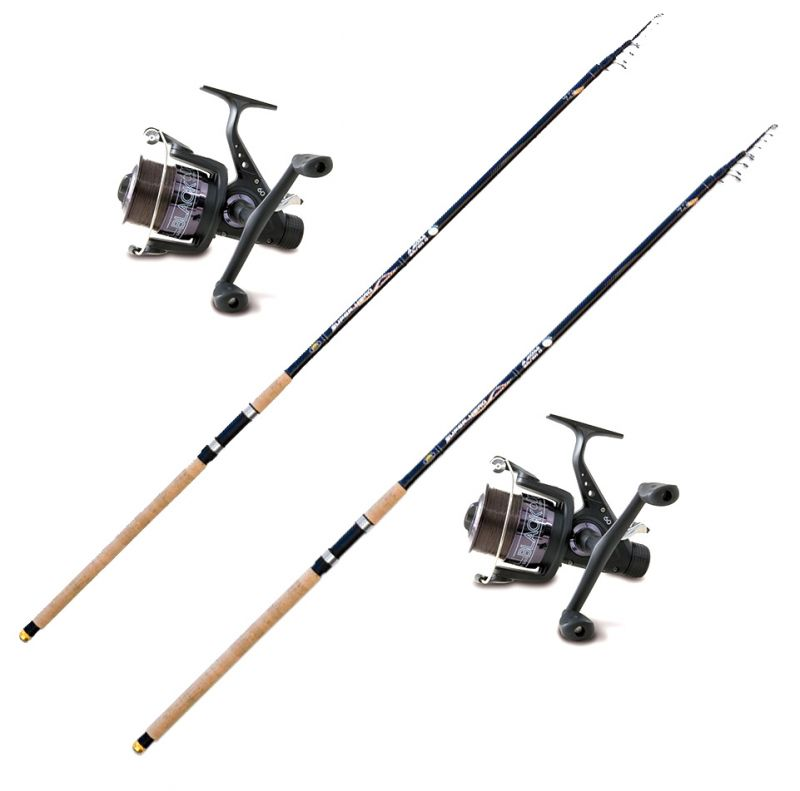 Lineaeffe Casting and Bank Fishing Kit 2 rods Super Hero 4