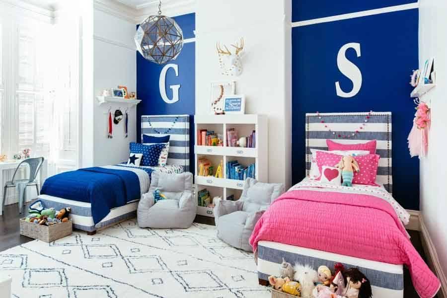 Habitacion Para Dos Nios Awesome Dormitorio Para Dos Nios