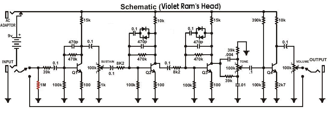 fuzz face wiring diagram doctor tweek v2 3 way outlet switch big muff pi versions violet ram s head