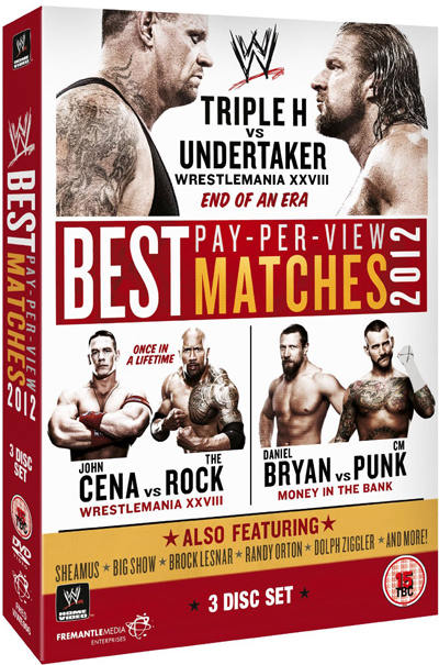 Television Review - WWE: The Best PPV Matches Of 2012 (DVD