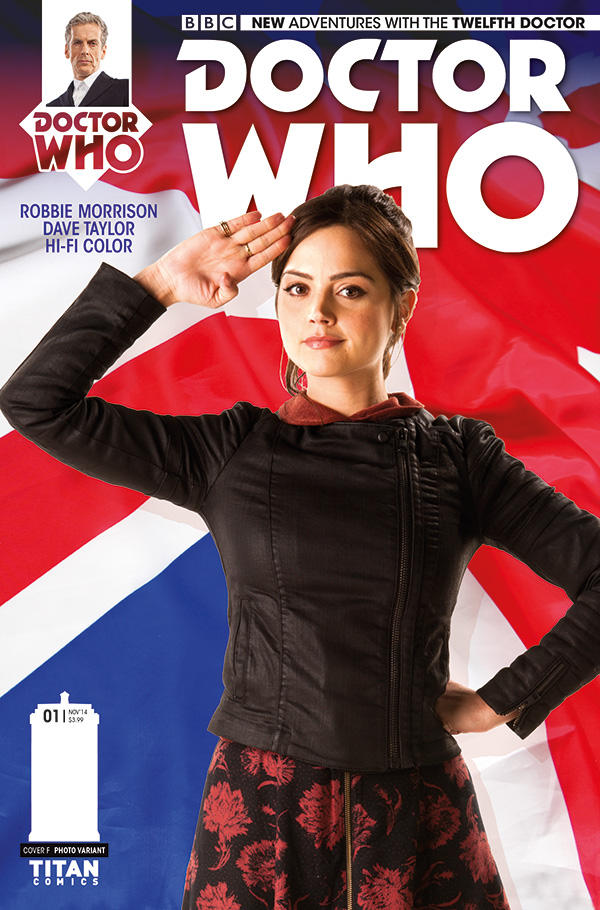 BBC Titan Comics Reveal The Twelfth Doctor Cover