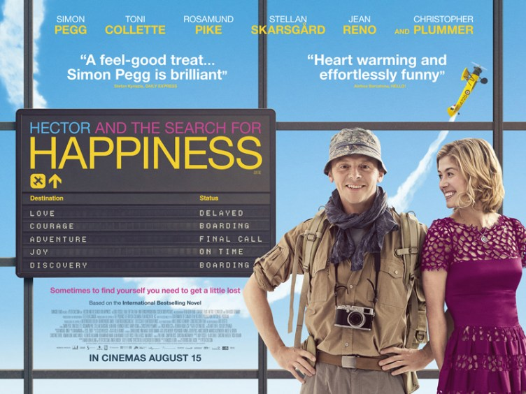 New Posters for Hector and the Search for Happiness - Pissed Off Geek