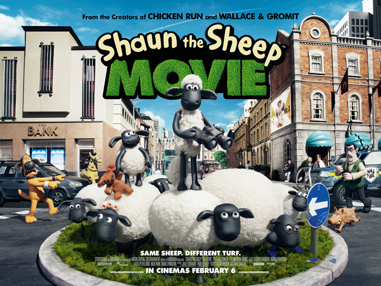 New Posters for Shaun the Sheep The Movie - Pissed Off Geek