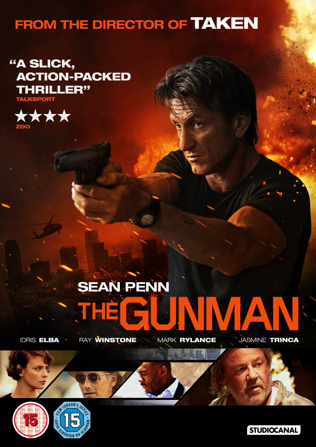 The Gunman Review  Pissed Off Geek