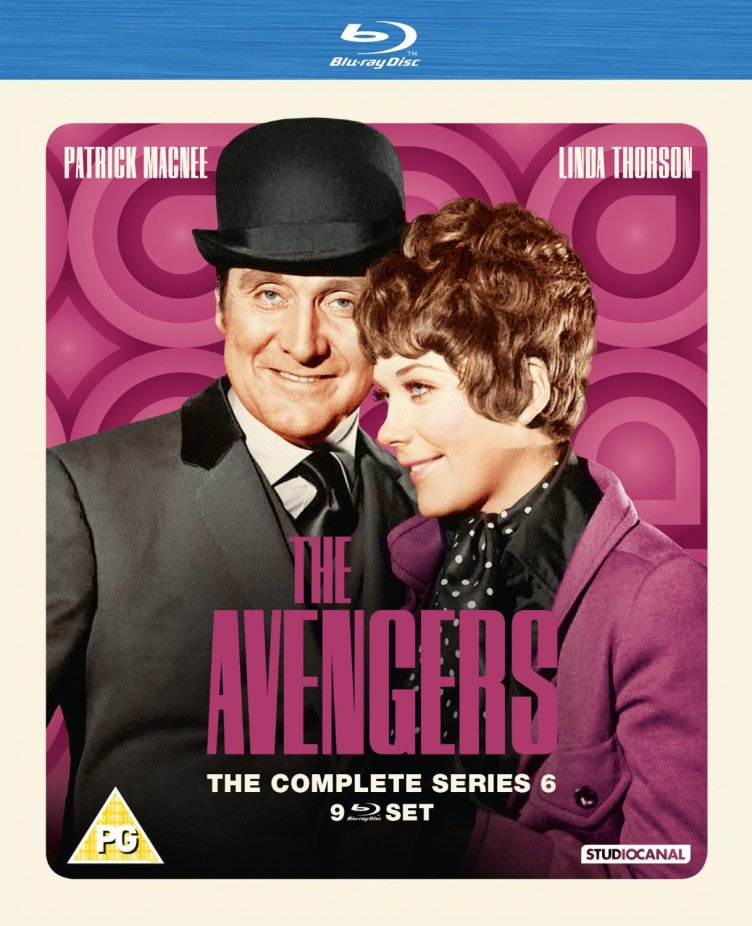 the avengers the complete series 6 review blu ray