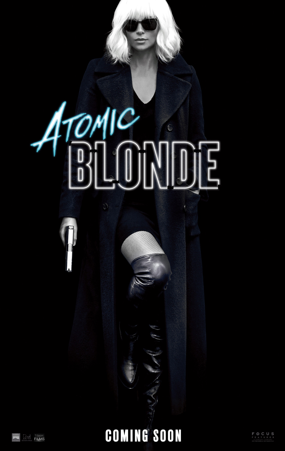Teaser Poster for Atomic Blonde Starring Charlize Theron
